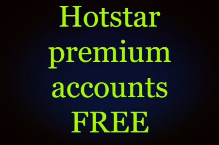 [100%Working]Hotstar premium accounts free( ͡° ͜ʖ ͡°)
