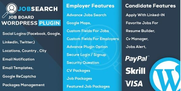 JobSearch - WP Job Board WordPress Plugin