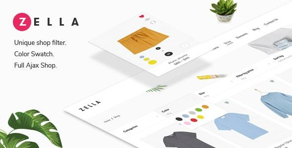 [Download] Zella - WooCommerce AJAX WordPress Theme - RTL support