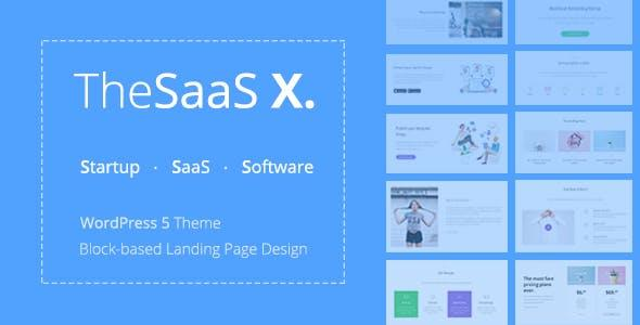 [Download] TheSaaS X - Responsive SaaS, Startup & Business
