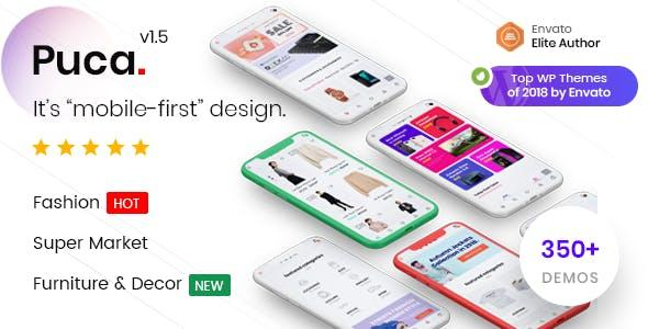 [Download] Puca - Optimized Mobile WooCommerce Theme
