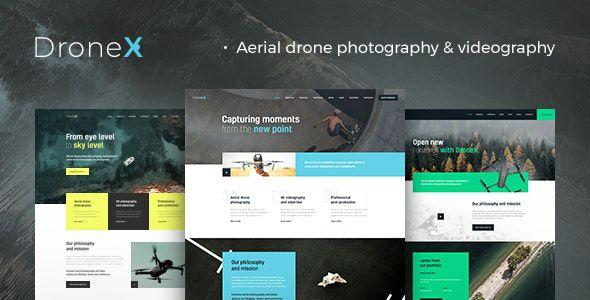 DroneX v1.1.0 - Aerial Photography & Videography WordPress Theme