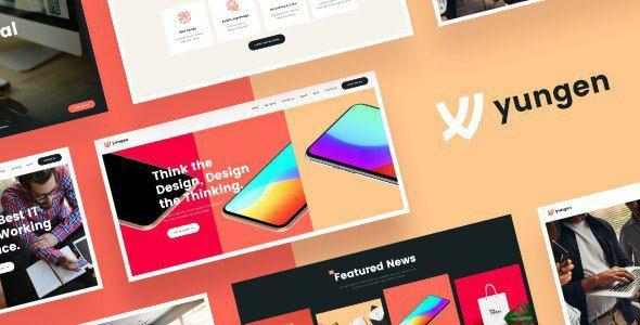 Yungen v1.0 - Modern Digital Agency Business WordPress Theme