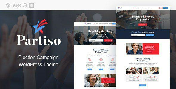 [Download]Partiso - Political WordPress Theme for Party & Candidate