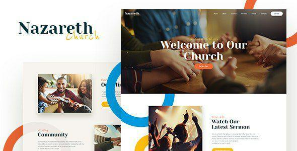 [download] Nazareth - Church & Religion WordPress Theme