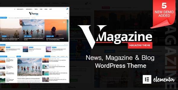 [Download] Vmagazine - Blog, NewsPaper, Magazine Themes